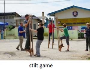 stilt game